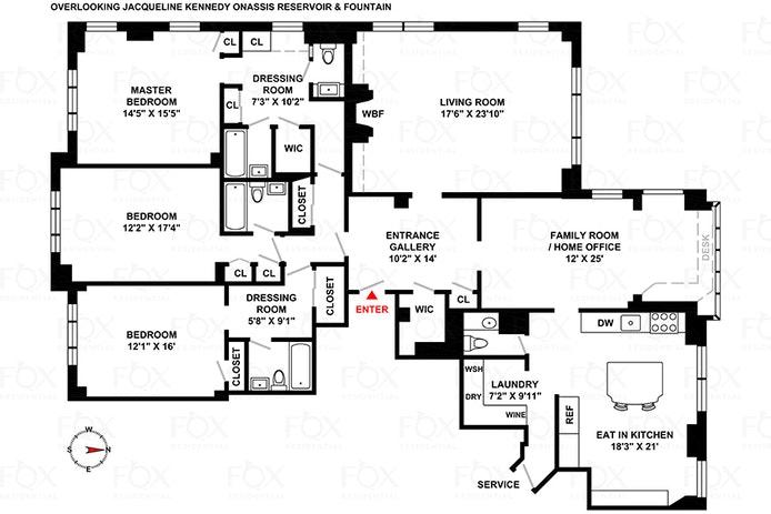 15 East 91st Street 11Flra, Upper East Side, NYC, $2,899,999, Web #: 20780257