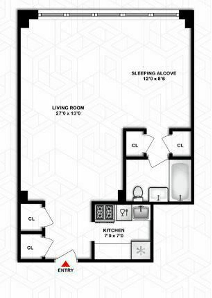 1175 York Avenue 8A, Upper East Side, NYC, $525,000, Web #: 20780457