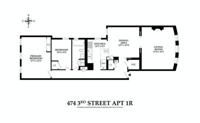 474 3rd Street 1R, Brooklyn, New York, $1,525,000, Web #: 20792227