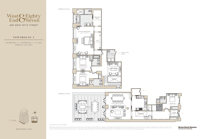 269 West 87th Street, Townhouse, Upper West Side, NYC, $5,400,000, Web #: 20800212