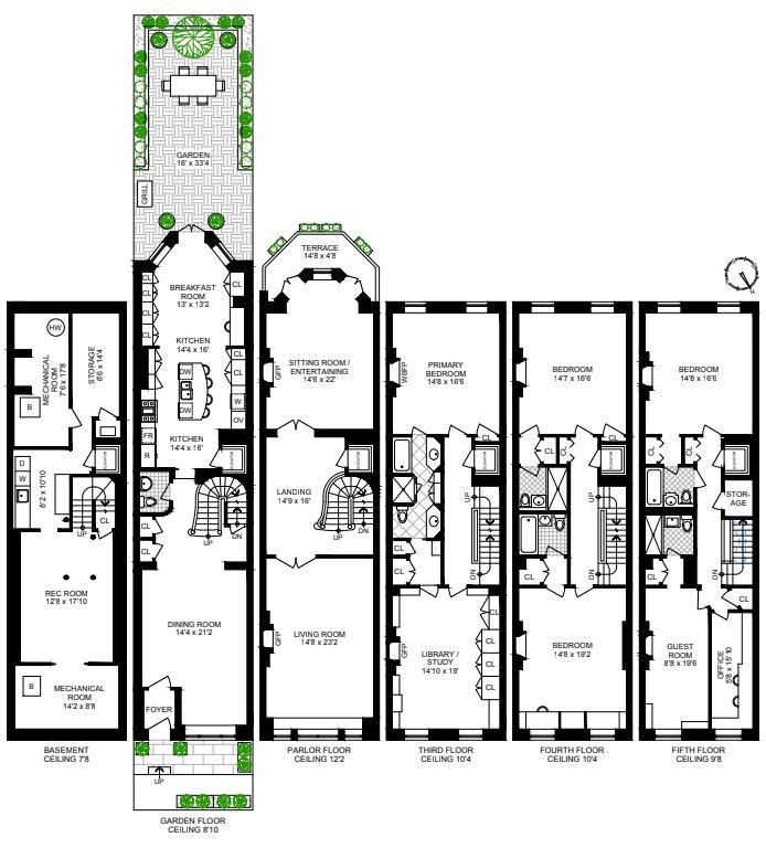 42 East 81st Street, Upper East Side, NYC, $12,200,000, Web #: 20800815