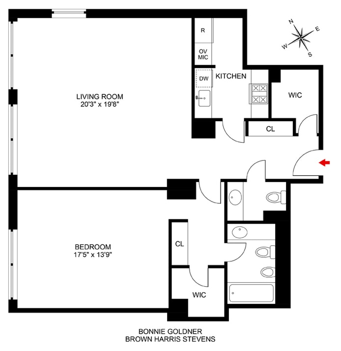 15 West 53rd Street 26E, Midtown West, NYC, $1,550,000, Web #: 20826593