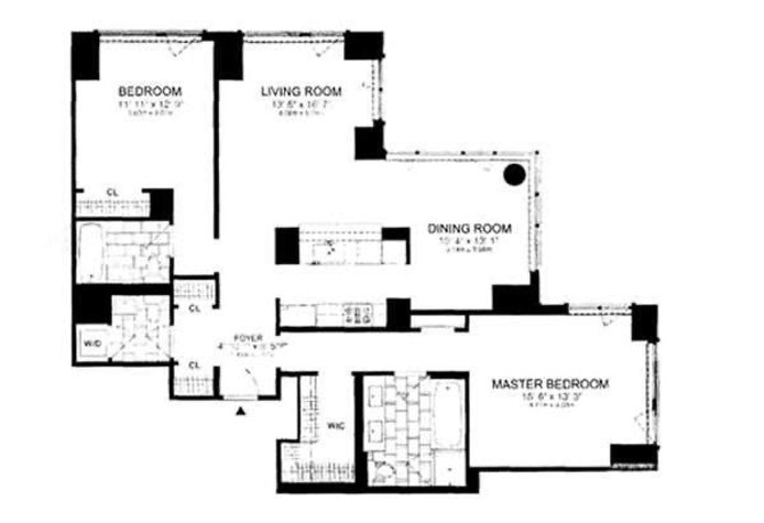 200 West End Avenue 6C, Upper West Side, NYC, $7,250, Web #: 20831393