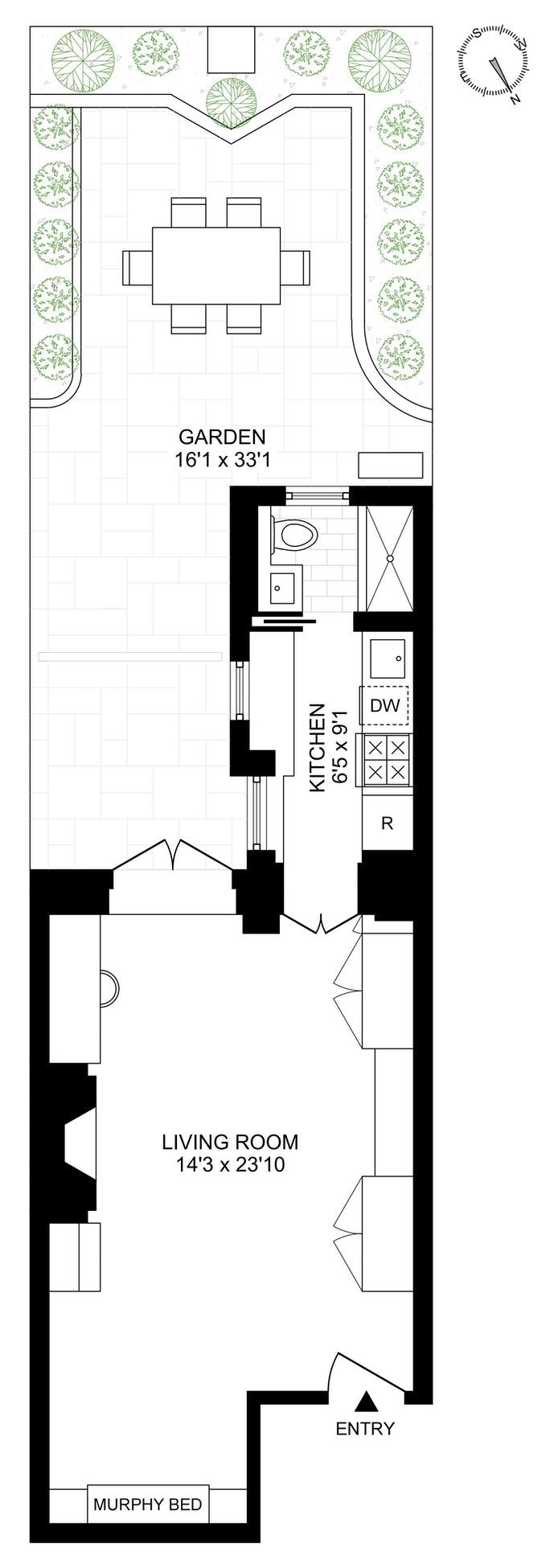 132 West 78th Street 2, Upper West Side, NYC, $695,000, Web #: 20833091