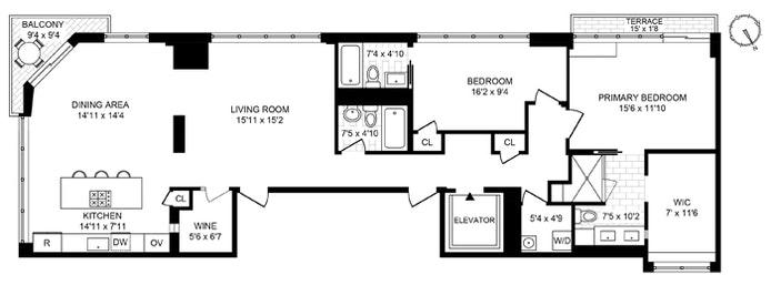 359 East 68th Street 8Flr, Upper East Side, NYC, $2,395,000, Web #: 20843030