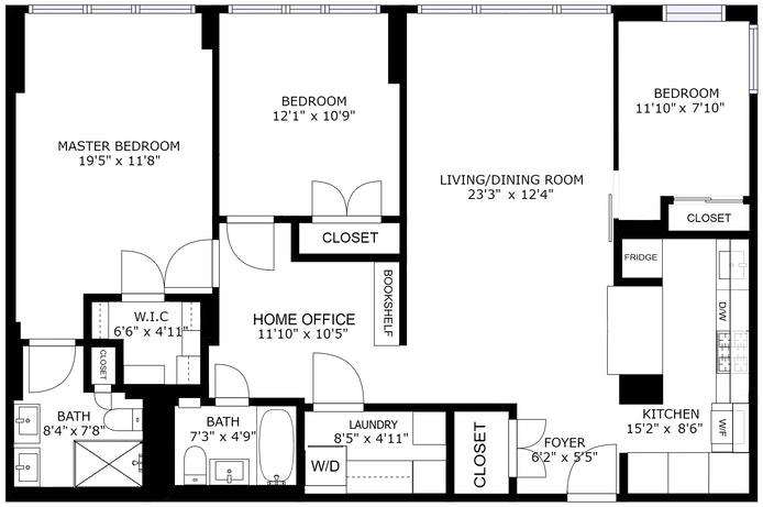 420 East 51st Street 3J, Midtown East, NYC, $950,000, Web #: 20847448