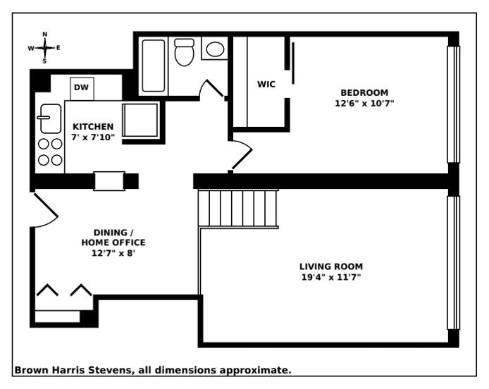 77 Bleecker Street 312, Greenwich Village, NYC, $875,000, Web #: 20850322