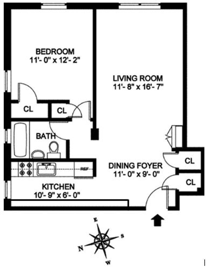 143 Bennett Avenue 4S, Washington Heights, NYC, $350,000, Web #: 20851507