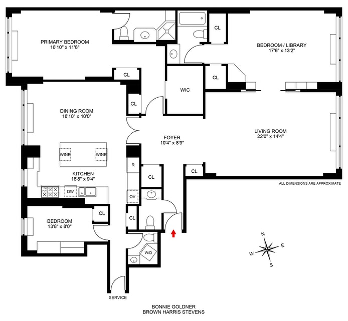 169 East 69th Street 5A, Upper East Side, NYC, $2,250,000, Web #: 20857030