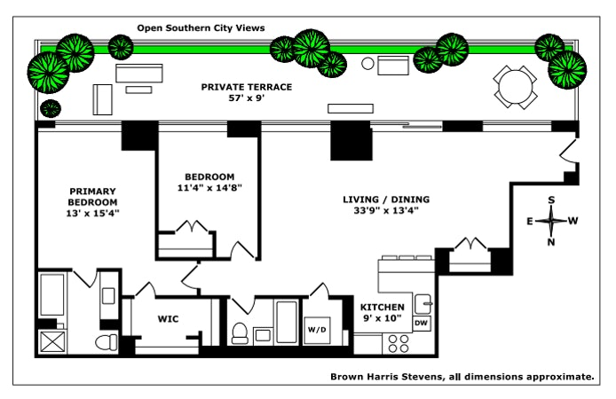 130 West 19th Street 10D, Greenwich Village/Chelsea, NYC, $2,695,000, Web #: 20858694