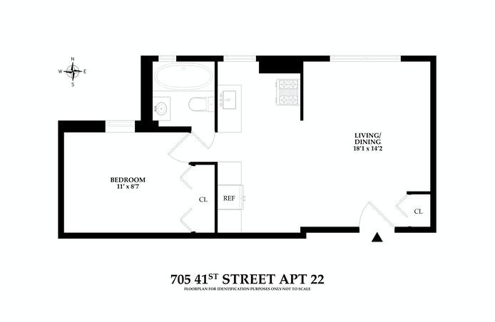 705 41st Street 22, Sunset Park, New York, $350,000, Web #: 20864333