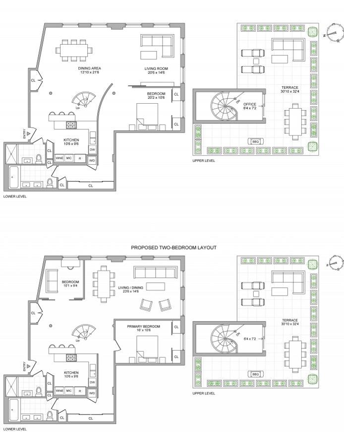 165 Hudson Street Pha, Tribeca, NYC, $2,995,000, Web #: 20864371