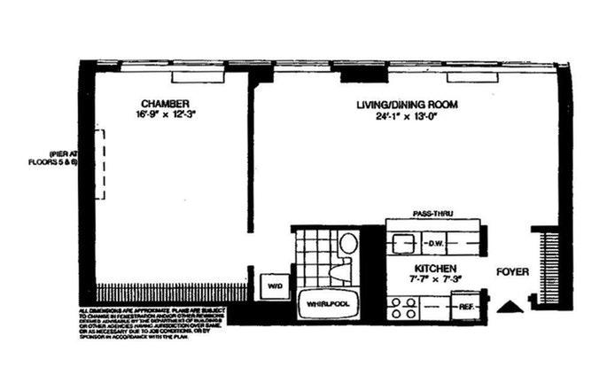418 East 59th Street 4C, Midtown East, NYC, $2,950, Web #: 20865267