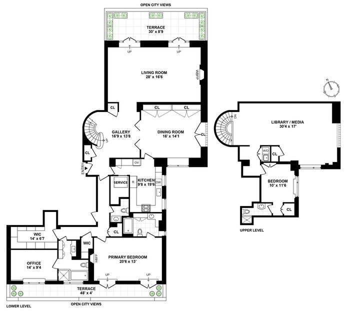 322 East 57th Street 16/17A, Midtown East, NYC, $5,750,000, Web #: 20867112