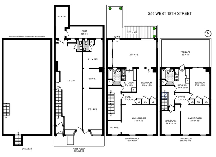 255 West 18th Street, Chelsea, NYC, $7,500,000, Web #: 20867139