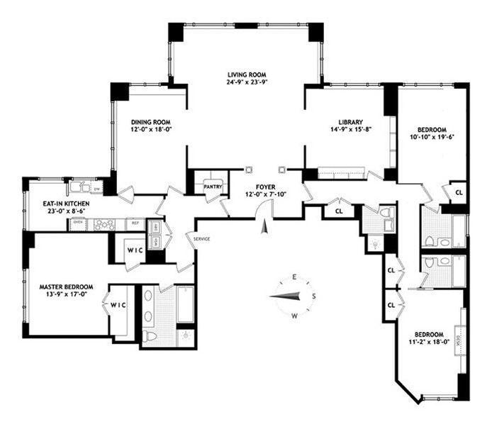 90 East End Avenue 18A, Upper East Side, NYC, $18,000, Web #: 20872665