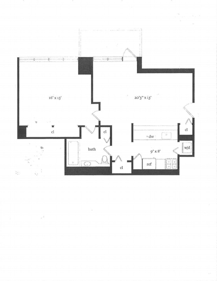 422 East 72nd Street 17F, Upper East Side, NYC, $3,600, Web #: 20873064
