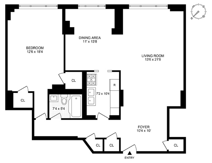 36 Sutton Place South 2B, Midtown East, NYC, $550,000, Web #: 20882143