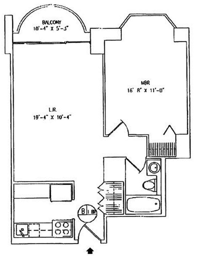 150 East 85th Street 10B, Upper East Side, NYC, $775,000, Web #: 20882951