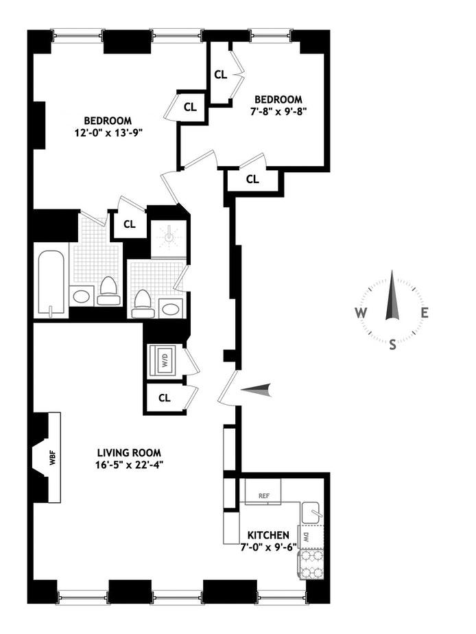 19 Pierrepont Street, Brooklyn Heights, New York, $1,600,000, Web #: 20900429