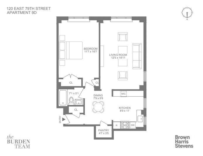 120 East 79th Street 9D, Upper East Side, NYC, $799,000, Web #: 20900583