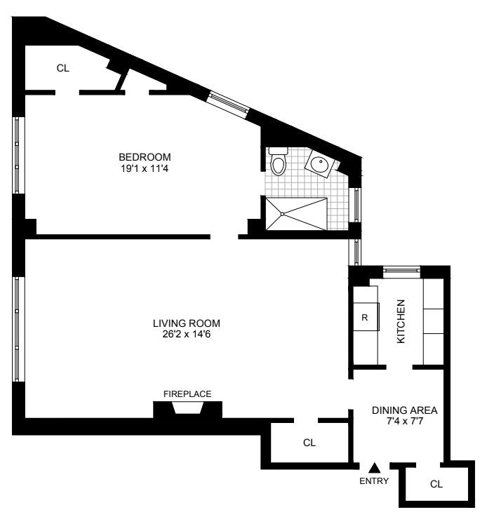 2 Horatio Street 10A, West Village, NYC, $1,995,000, Web #: 20901431