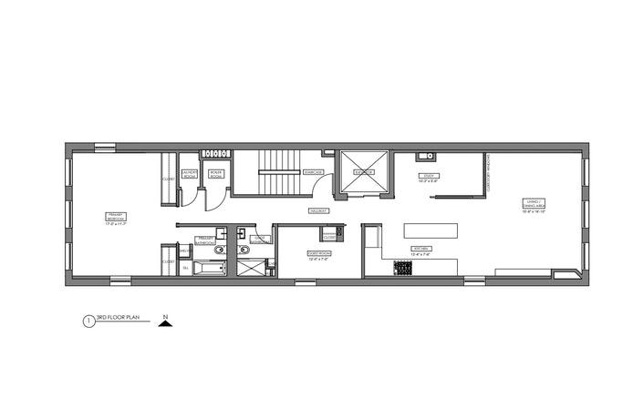 448 Greenwich Street 3rd Floor, Tribeca/SOHO/Chinatown, NYC, $8,500, Web #: 20937312