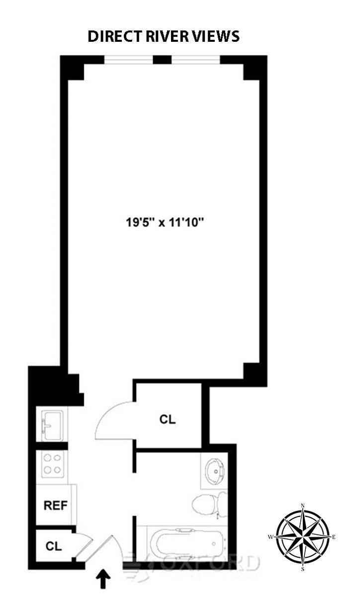 310 Riverside Drive 604, Upper West Side, NYC, $375,000, Web #: 20959224
