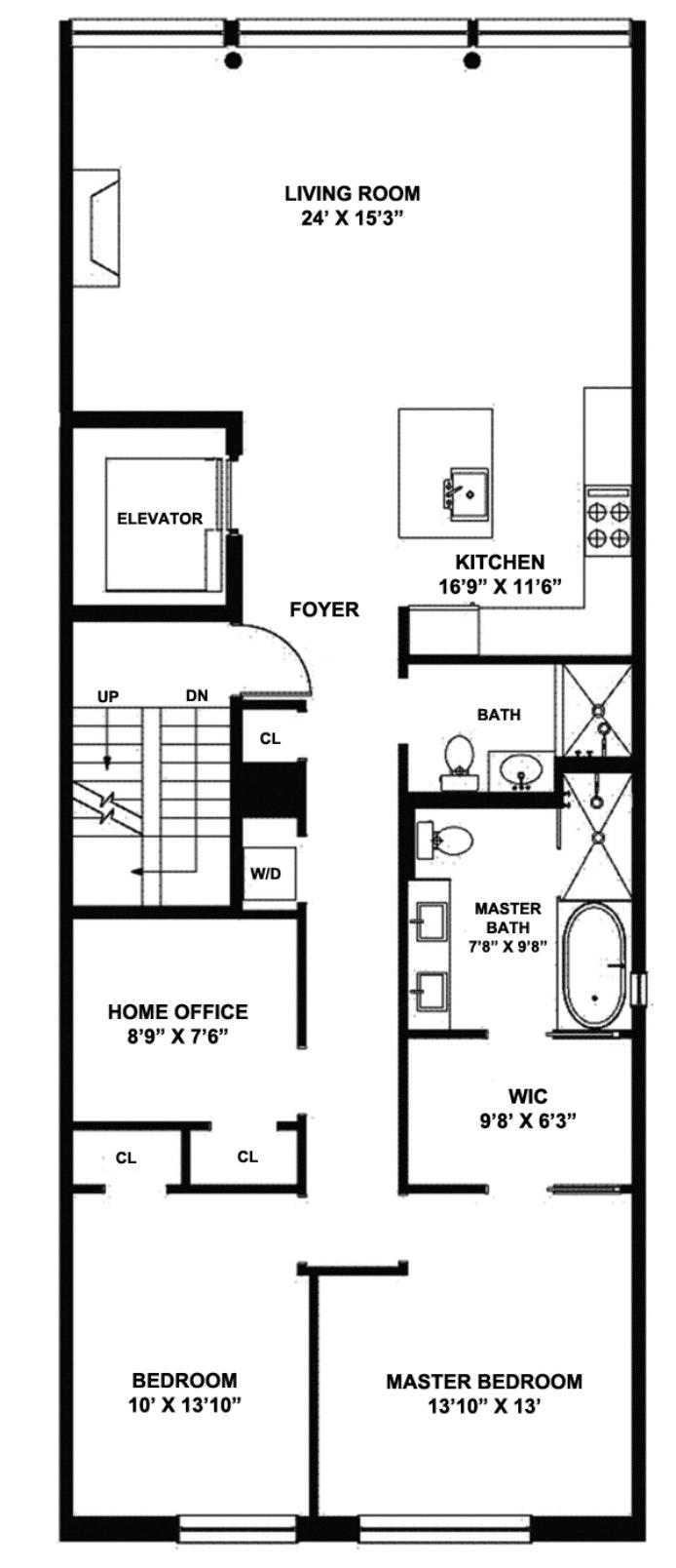 181 Sullivan Street 3, Greenwich Village, NYC, $3,000,000, Web #: 20959605