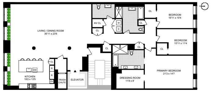 66 East 11th Street 4Fl, Greenwich Village, NYC, $8,500,000, Web #: 20961017