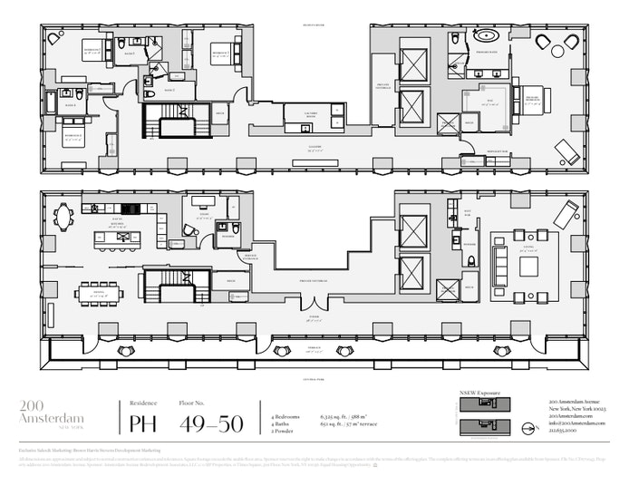 200 Amsterdam Avenue Ph2, Upper West Side, NYC, $38,000,000, Web #: 20965170