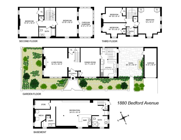 1880 Bedford Avenue, Brooklyn, New York, $2,725,000, Web #: 21035827