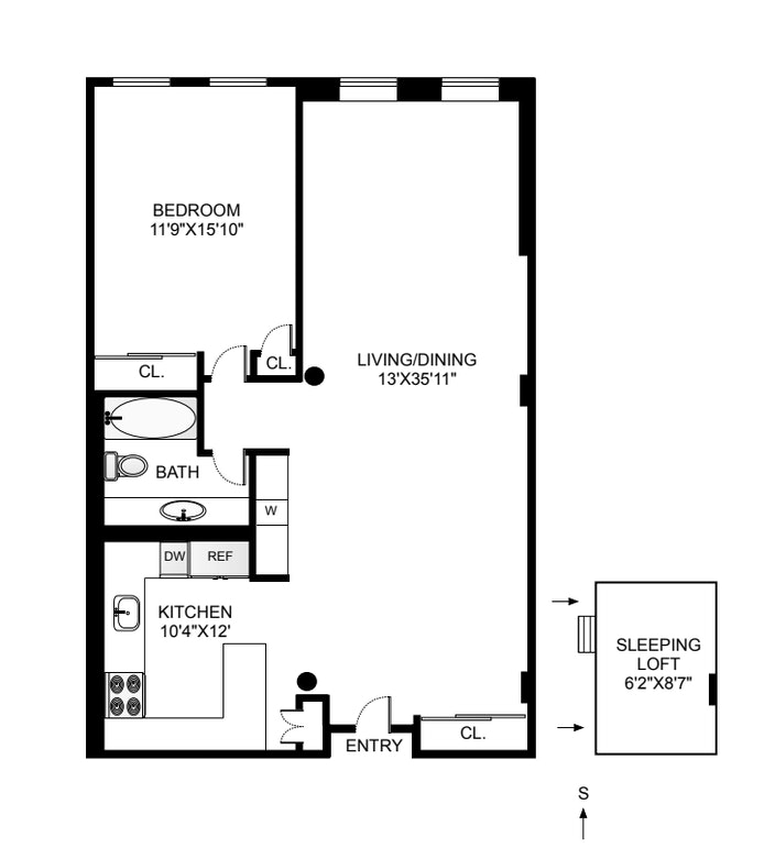 423 Atlantic Avenue 2N, Boerum Hill, New York, $995,000, Web #: 21036537