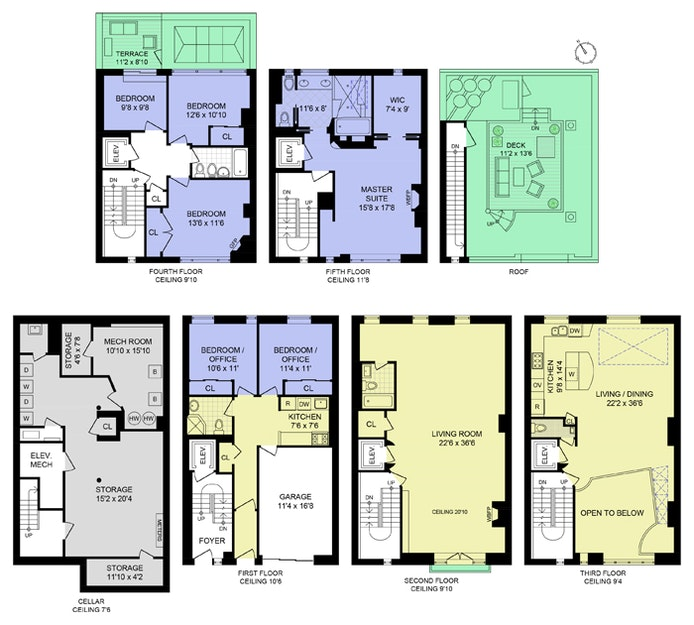 241 West 17th Street, Chelsea, NYC, $7,580,000, Web #: 21044540