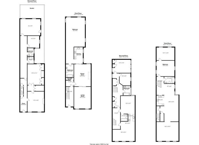 36 West 11th Street, West Village, NYC, $12,000,000, Web #: 21066539