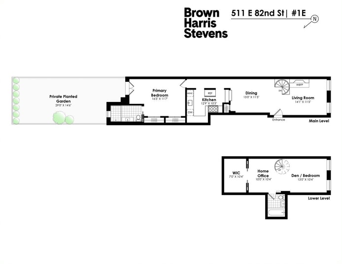 511 East 82nd Street 1E, Upper East Side, NYC, $1,288,000, Web #: 21106186