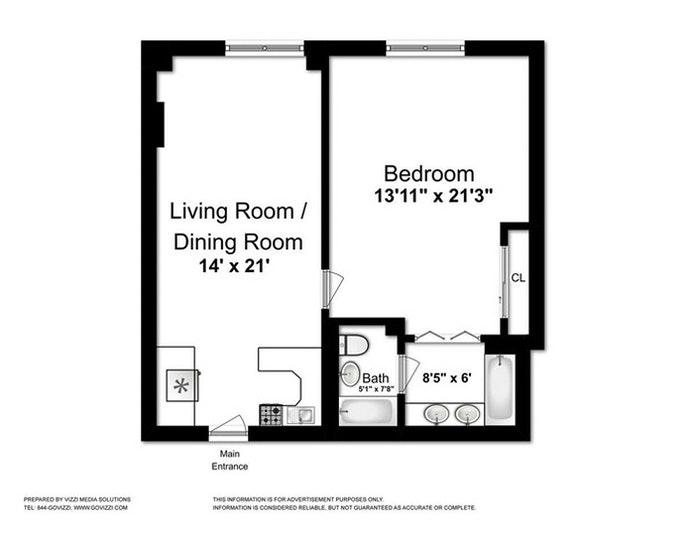 160 Central Park South 1160, Midtown West, NYC, $4,450, Web #: 21137865