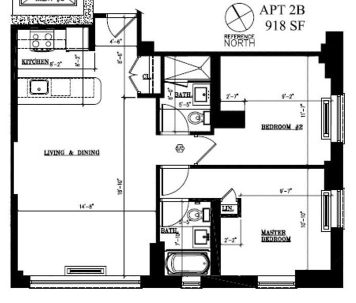 502 Ninth Avenue 2B, Midtown West, NYC, $4,800, Web #: 21170621