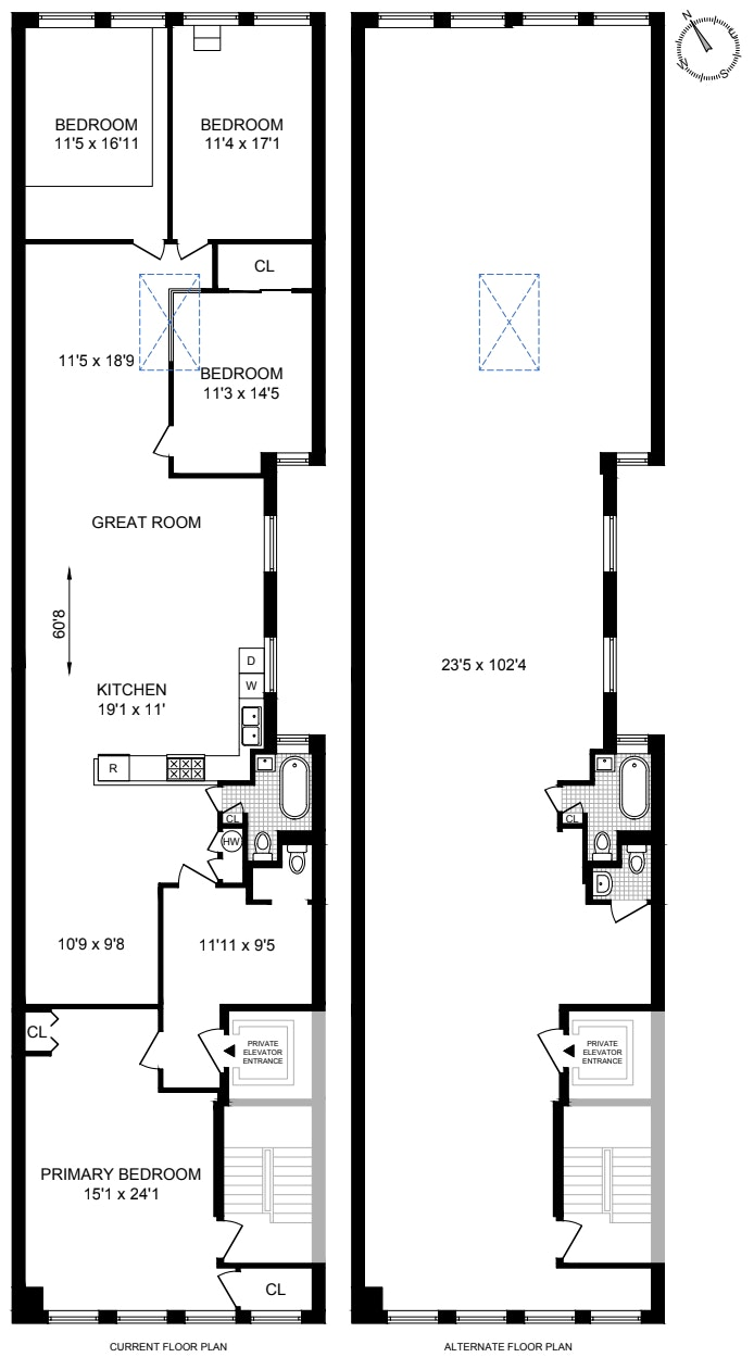 131 West 24th Street 7, Midtown West, NYC, $2,200,000, Web #: 21183776