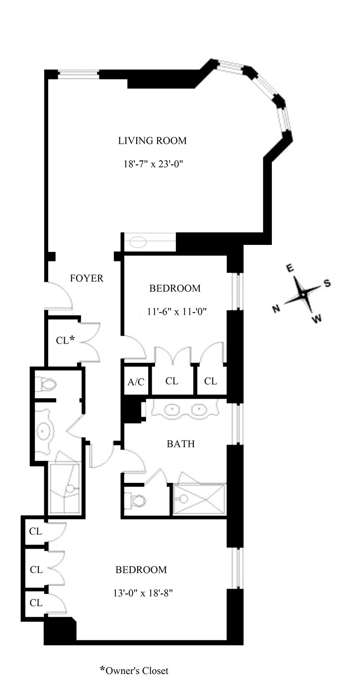 768 Fifth Avenue 1623, Midtown East, NYC, $5,350,000, Web #: 21187994