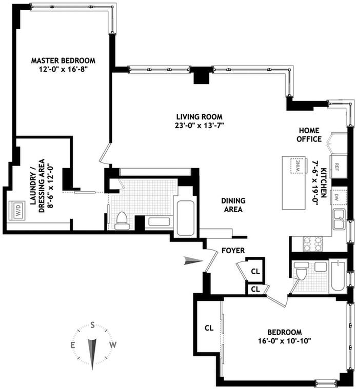 77 East 12th Street 9Hj, East Village, NYC, $2,150,000, Web #: 21194255