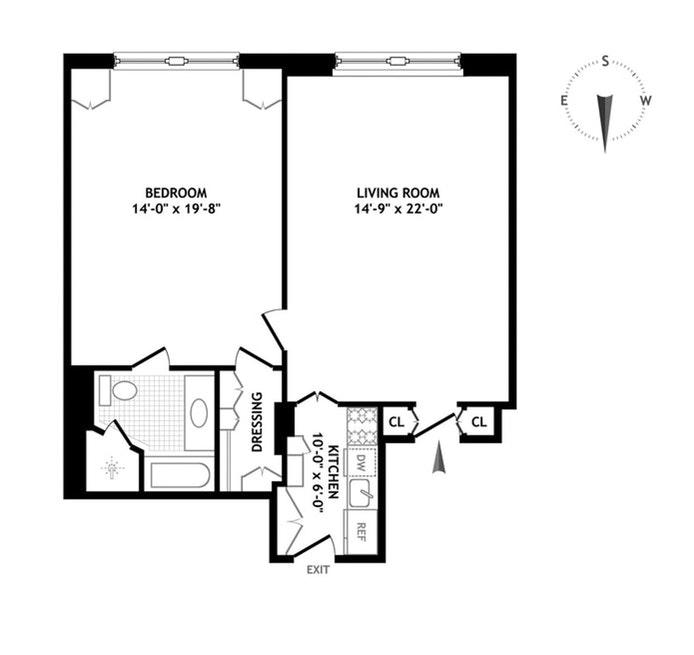 781 Fifth Avenue 407, Upper East Side, NYC, $13,000, Web #: 21246786