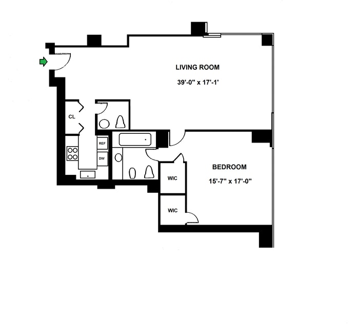 721 Fifth Avenue, Midtown East, NYC, $1,450,000, Web #: 21266234