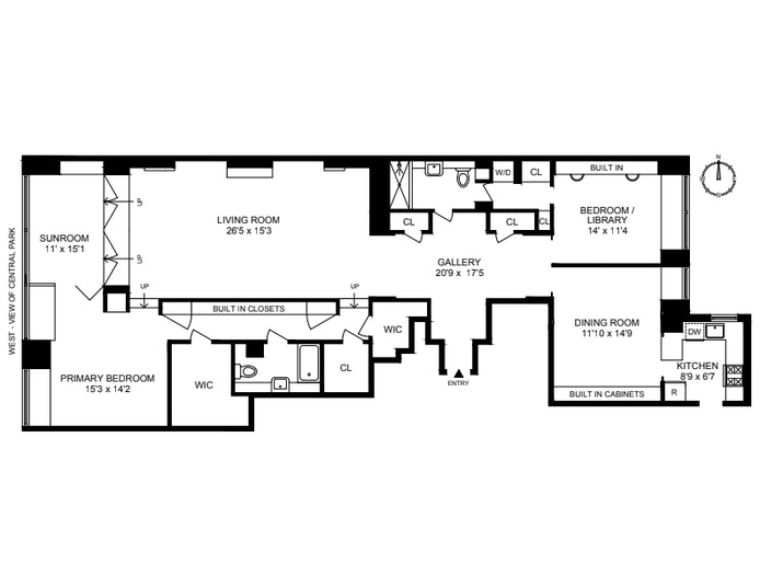 910 Fifth Avenue 9A, Upper East Side, NYC, $4,000,000, Web #: 21285296