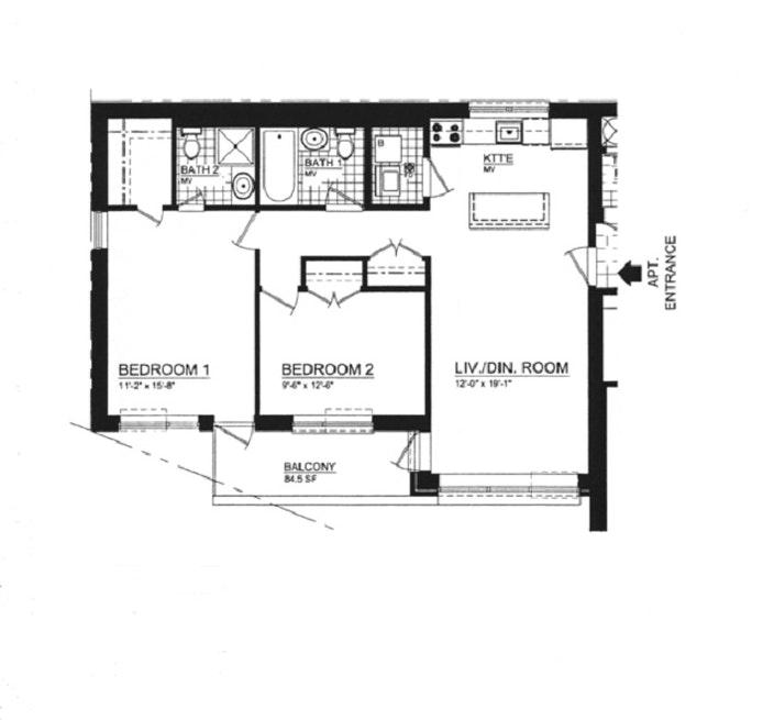 355 Stratford Road 3C, Ditmas Park, New York, $875,000, Web #: 21295361