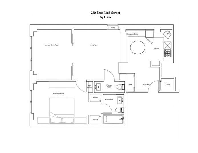 230 East 73rd Street 4A, Upper East Side, NYC, $895,000, Web #: 21317479