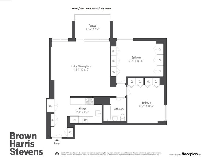 333 Pearl Street 18D, Financial District, NYC, $1,280,000, Web #: 21323429
