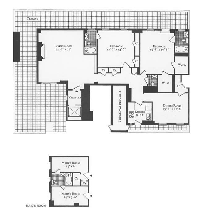 30 Sutton Place, Midtown East, NYC, $1,500,000, Web #: 244950