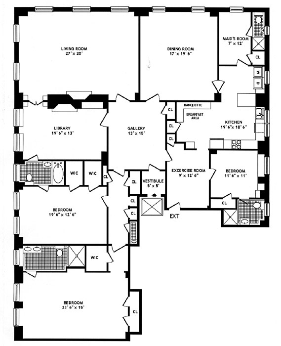 25 Sutton Place, Midtown East, NYC, $4,000,000, Web #: 268948