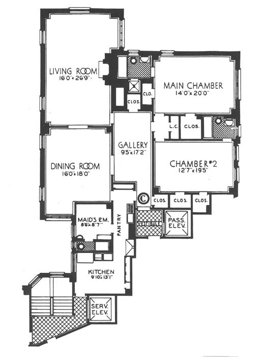 1112 Park Avenue, Upper East Side, NYC, $1,750,000, Web #: 292337